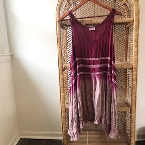 Intimately Free People Voile Trapeze Lace Tank✨